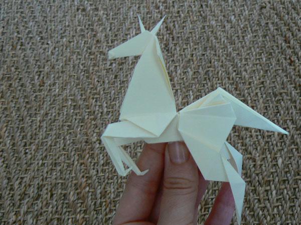 Faire Un Cheval En Origami